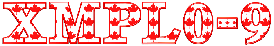 Canada 3D Graphic Text v01