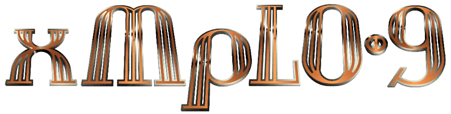 Copper And Steel 3D Graphic Text v01