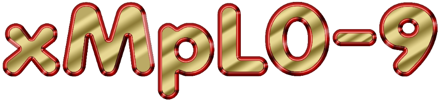 Gold In Red 3D Graphic Text v01