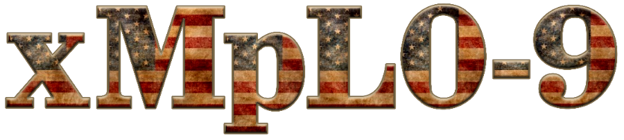 Old Flag 3D Graphic Text v01